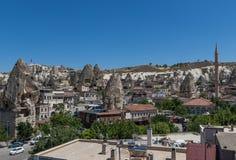 El paisaje maravilloso de Cappadocia, Turqu?a imagen de archivo