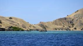 El paisaje marino Vista de la costa del golfo Foto de archivo libre de regalías
