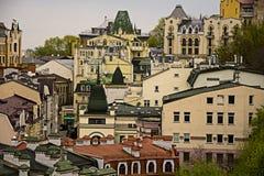 El paisaje urbano Imagen de archivo