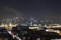 El paisaje urbano de las grandes ciudades y de sus distritos Imagenes de archivo