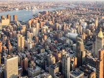 El paisaje urbano de New York City Foto de archivo