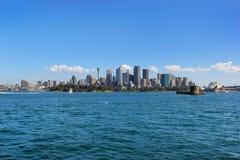 El paisaje urbano de Sydney Imagen de archivo libre de regalías