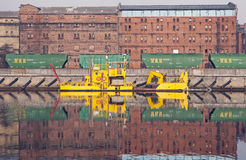 El paisaje urbano, Letonia Imagen de archivo libre de regalías