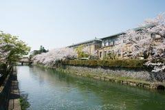 El paisaje urbano Osaka fotos de archivo