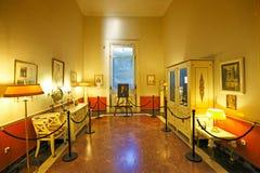 El palacio de Achilleion en Corfú, Grecia Foto de archivo