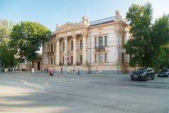 El palacio de Alferaki Foto de archivo