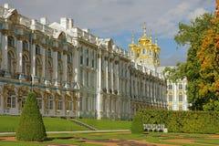 El palacio de Catherine Imagenes de archivo