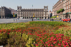 El Palacio de Hierro Zocalo Mexico Royalty Free Stock Photo