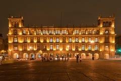 El Palacio de Hierro Zocalo Mexico Royalty Free Stock Image