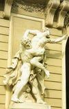 El palacio de Hofburg es el palacio imperial anterior en el centro de VI Imagenes de archivo