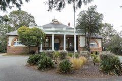 El Palacio de Justicia, Braidwood, NSW, Australia Foto de archivo libre de regalías