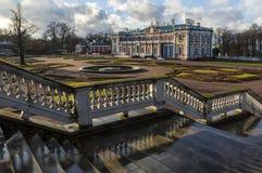 El palacio de Kadriorg es un palacio de Petrine Baroque construido para Catherine I de Rusia por Peter el grande en Tallinn, Esto imagen de archivo