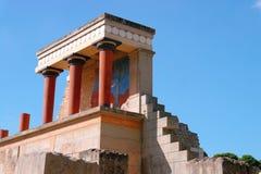 El palacio de Knossos Heraklion Grecia crete fotos de archivo
