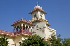 El palacio de la ciudad en palacio de la ciudad de Jaipur Foto de archivo libre de regalías