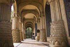 El palacio de la ciudad perdida - entrada arqueada imagen de archivo libre de regalías