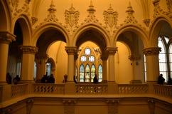 El palacio de la cultura de Iasi Foto de archivo libre de regalías