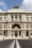 El palacio de la justicia en Roma Imagen de archivo libre de regalías