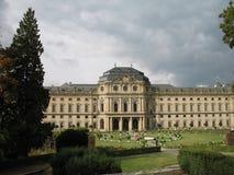 El palacio de la residencia Fotografía de archivo libre de regalías