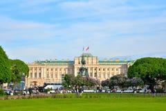 El palacio de Mariinsky, la asamblea legislativa en St Isaac sq Fotografía de archivo libre de regalías
