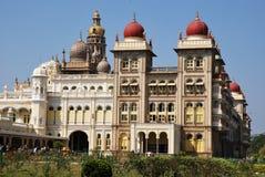El palacio de Mysore en la India Fotos de archivo