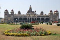 El palacio de Mysore en la India Imagen de archivo libre de regalías