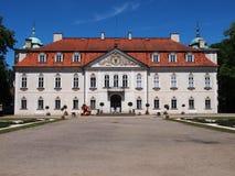 El palacio de Nieborow, residencia vieja de los magnats en Polonia Foto de archivo