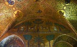 El palacio de normandos de Palermo en Sicilia Fotografía de archivo