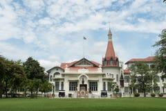 El palacio de Phyathai o el palacio tailand?s real de Phya construido comenz? en 1909 en el orden del v de Rama, Bangkok 1 de oct fotografía de archivo