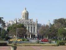 El palacio de Presidetial en La Habana Foto de archivo
