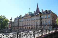 El palacio de Rohan en Estrasburgo Foto de archivo