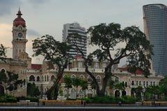 El palacio de Sultan Abdul Samad imagen de archivo libre de regalías