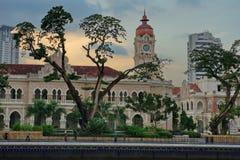 El palacio de Sultan Abdul Samad fotos de archivo libres de regalías