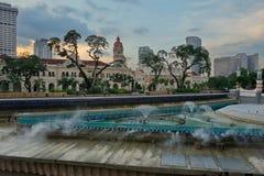 El palacio de Sultan Abdul Samad fotografía de archivo