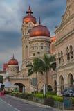 El palacio de Sultan Abdul Samad fotos de archivo