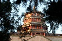 El palacio de verano, ¼ Œ de Œhistoryï del ¼ del turretsï del ¼ Œ de Œbuildingï del ¼ del templeï Imágenes de archivo libres de regalías