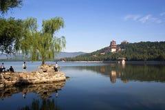 El palacio de verano Imagen de archivo libre de regalías