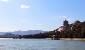 El palacio de verano, Pekín imagenes de archivo