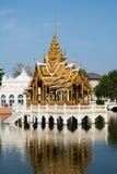 El palacio de verano real en el PA de la explosión adentro, Tailandia Imagen de archivo