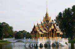 El palacio de verano real en el PA de la explosión adentro, Tailandia Imagen de archivo libre de regalías