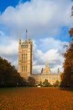 El palacio de Westminster Imagen de archivo libre de regalías