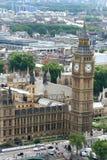 El palacio de Westminster Imagen de archivo