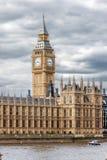 El palacio de Westminster en Londres Fotos de archivo libres de regalías