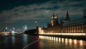 El palacio de Westminster fotografía de archivo libre de regalías
