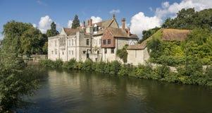 El palacio del arzobispo, Maidstone Imagenes de archivo