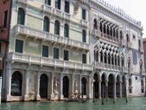 El palacio del Ca D famosa 'Oro imagen de archivo