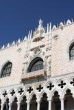 El palacio del dux en Venecia Foto de archivo libre de regalías
