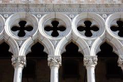 El palacio del dux en Venecia Imagen de archivo libre de regalías