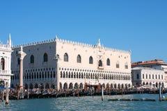 El palacio del dux en Venecia Foto de archivo