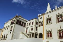 El palacio del nacional de Sintra Fotos de archivo libres de regalías