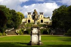 El palacio del naranjal (Orangerieschloss) en el parque Sanssouci en Potsdam imagen de archivo